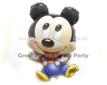 Baby Miki / Boy Foil  Balloon (Type 11)