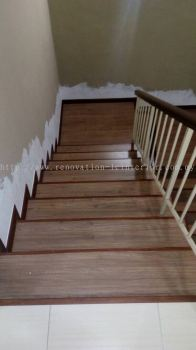 Laminate staircase