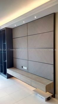 Tv Console(project in Setia Walk Puchong R3)