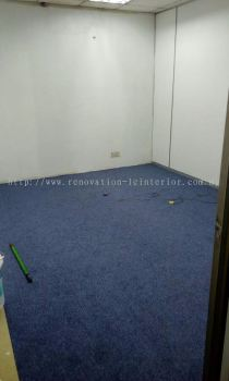 Carpet work(Jln Tun Sambanthan)