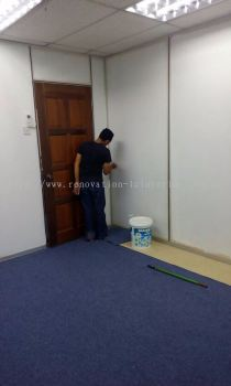 Paint work(Jln Tun Sambanthan)