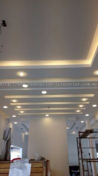Customize Plaster Ceiling (Equine Part Project)
