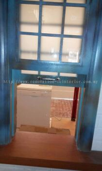 Custom Made Wooden Window with Glass