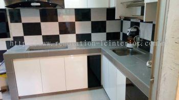 Base Kitchen Cabinet(Taman Perkasa Fasa)