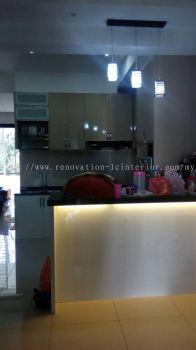 Island table with T5 light(Jln Suarasa Project)