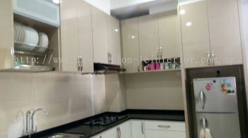Wall Cabinet with Dish rack(Jln Suarasa Project)