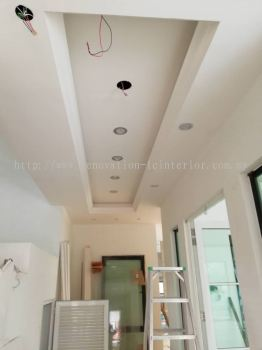 Plaster ceiling work