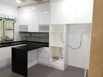 Full height top unit kitchen cabinet