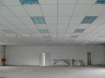 OFFICE 2 X 4 CEILING