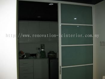 KITCHEN FROSTED GLASS