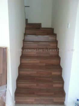 CHERAS DOUBLE STOREY STAIRCASE
