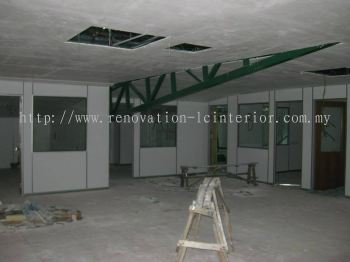 OFFICE PARTITION GIBSON BOARD