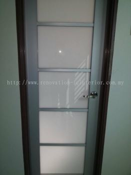 BALAKONG OFFICE FROSTED GLASS DOOR
