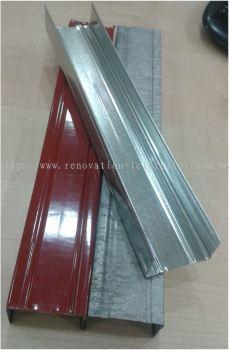 Plaster Ceiling Grid / Galvanized Iron Grid - PU8' ( 1 5/8'' )
