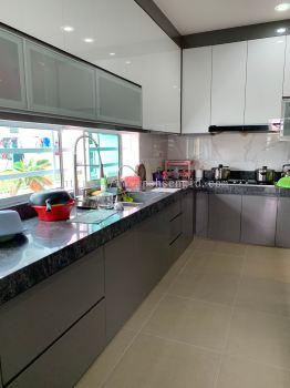 4G Glass Kitchen Cabinet #Rimbun Vista