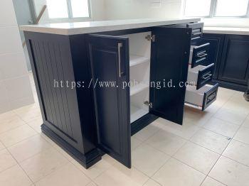 Nyatoh Spray Paint Kitchen Cabinet #Rimbun Irama