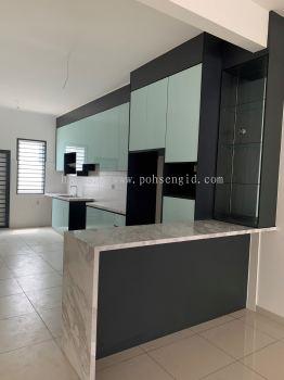 4G Glass Kitchen Cabinet #FELLONA