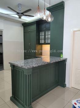 Nyatoh Spray Paint Kitchen Cabinet #SIGC