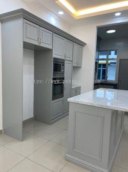 Nyatoh Spray Paint Kitchen Cabinet #RIMBUN VISTA