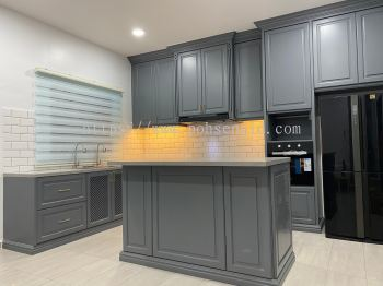 Nyatoh Spray Paint Kitchen Cabinet #ALOR GAJAH  #MELAKA