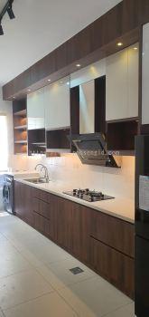 Solid Plywood Laminated Kitchen Cabinet  #ARA SENDAYAN