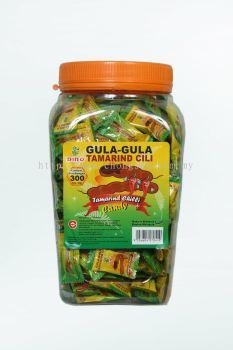 300pcs Dino Tamarind Cili Candy