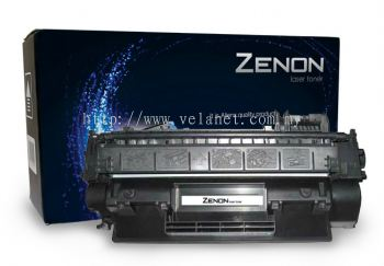 ZENON 125A LaserJet Toner Cartridge (CB540A) Black - Compatible HP Printer CP1215