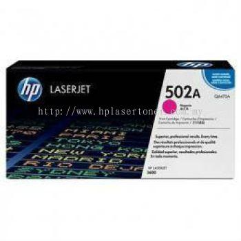 HP 502A MAGENTA LASERJET TONER CARTRIDGE (Q6473A)