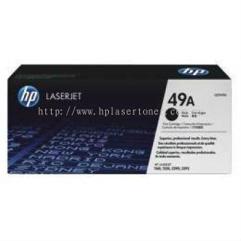 HP 49A BLACK LASERJET TONER CARTRIDGE (Q5949A)