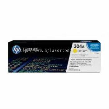 HP 304A YELLOW LASERJET TONER CARTRIDGE (CC532A)