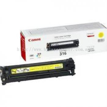 CANON TONER CARTRIDGE 316 (YELLOW)