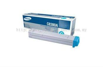 SAMSUNG CLX-C8380A CYAN TONER CARTRIDGE (CLX-C8380A)