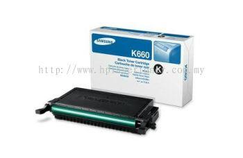 SAMSUNG CLP-K660A BLACK TONER CARTRIDGE (CLP-K660A)
