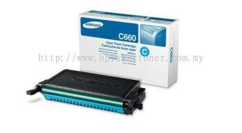 SAMSUNG CLP-C660A CYAN TONER CARTRIDGE (CLP-C660A)