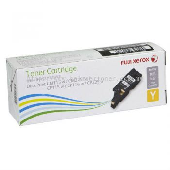 XEROX CP115 CP116 CP225 YELLOW TONER CARTRIDGE (CT202267)