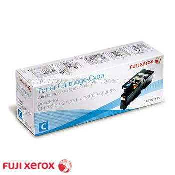 XEROX CP105 CM205 CP215 CM215 CYAN TONER CARTRIDGE (CT201592)