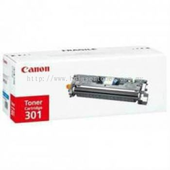 CANON ORIGINAL TONER CARTRIDGE 301 (CYAN) - COMPATIBLE TO CANON PRINTER CLBP-5200PS MF-8180