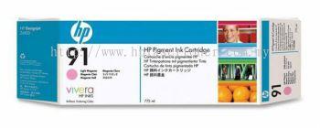 HP 91 ORIGINAL LIGHT MAGENTA INK CARTRIDGE (C9471A) COMPATIBLE TO HP PRINTER Z6100