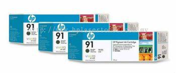 HP 91 ORIGINAL MATTE BLACK 3 CARTRIDGES MULTIPACK (C9480A) COMPATIBLE TO HP PRINTER Z6100