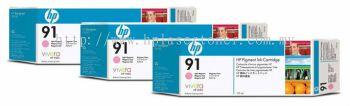 HP 91 ORIGINAL LIGHT MAGENTA 3 CARTRIDGES MULTIPACK (C9487A) COMPATIBLE TO HP PRINTER Z6100