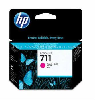 HP 711 ORIGINAL MAGENTA INK CARTRIDGE (CZ131A) COMPATIBLE TO HP PRINTER DESIGNJET T520