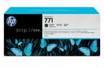 HP 771B ORIGINAL MATTE BLACK INK CARTRIDGE (B6X99A) COMPATIBLE TO HP PRINTER DESIGNJET Z6200
