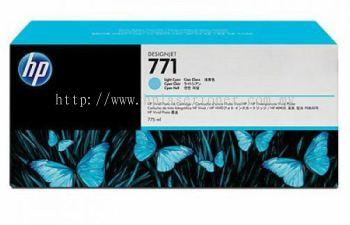 HP 771B ORIGINAL LIGHT CYAN INK CARTRIDGE (B6Y04A) COMPATIBLE TO HP PRINTER DESIGNJET Z6200