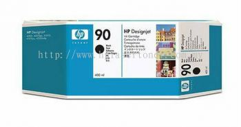 HP 90 ORIGINAL BLACK INK CARTRIDGE (C5058A) COMPATIBLE TO HP PRINTER DESIGNJET 4000