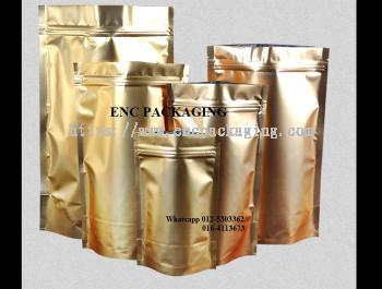 Gold foil bag (120mm x 200mm)
