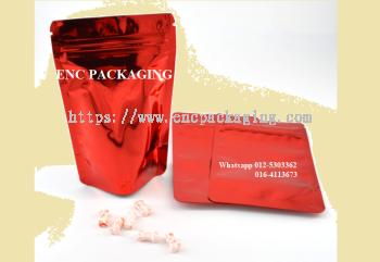 Red foil bag