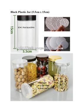 Black jar 310ml(5.5cm x 15cm)