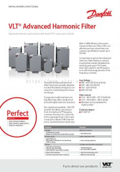 VLT Advanced Harmonic Filter