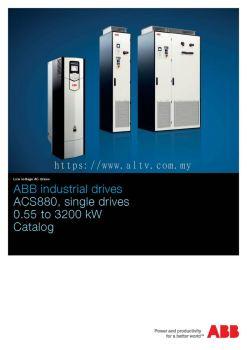 ACS880 Single Drives