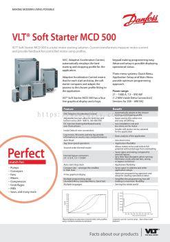 VLT SoftStarter MCD500